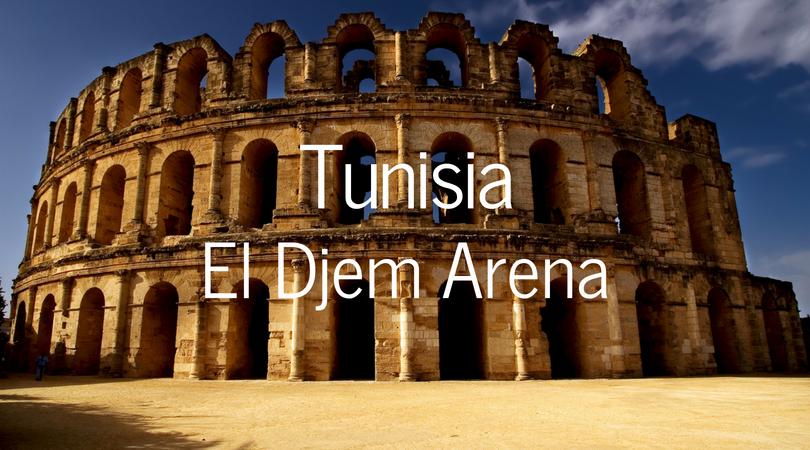 Tunisia El Djem Arena