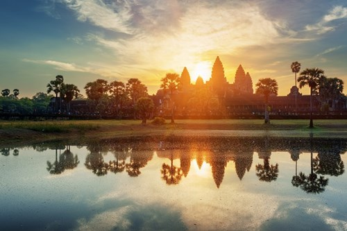 Sunset Angkor Wat