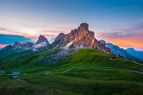 Dolomites Italy Near Bolzano