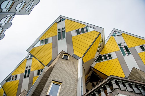 Cube Houses