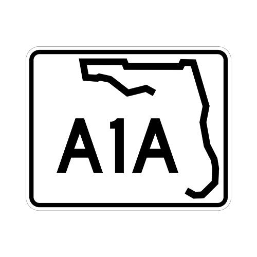 Florida A1A Sign