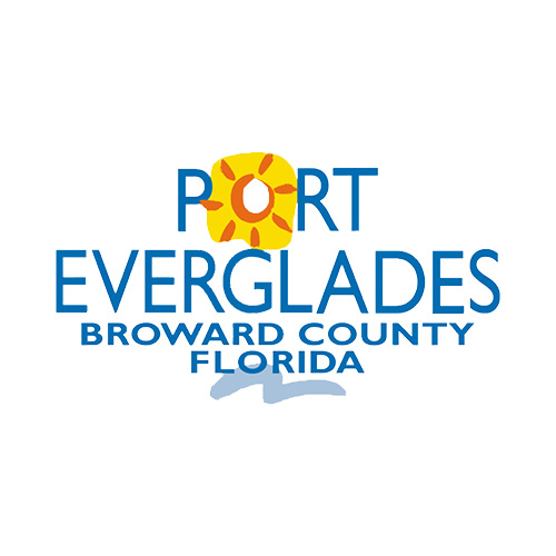 Port Everglades Broward County Florida Logo
