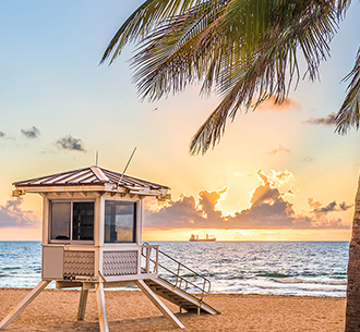 Destination Digital Vacation Planner Beach Sunset