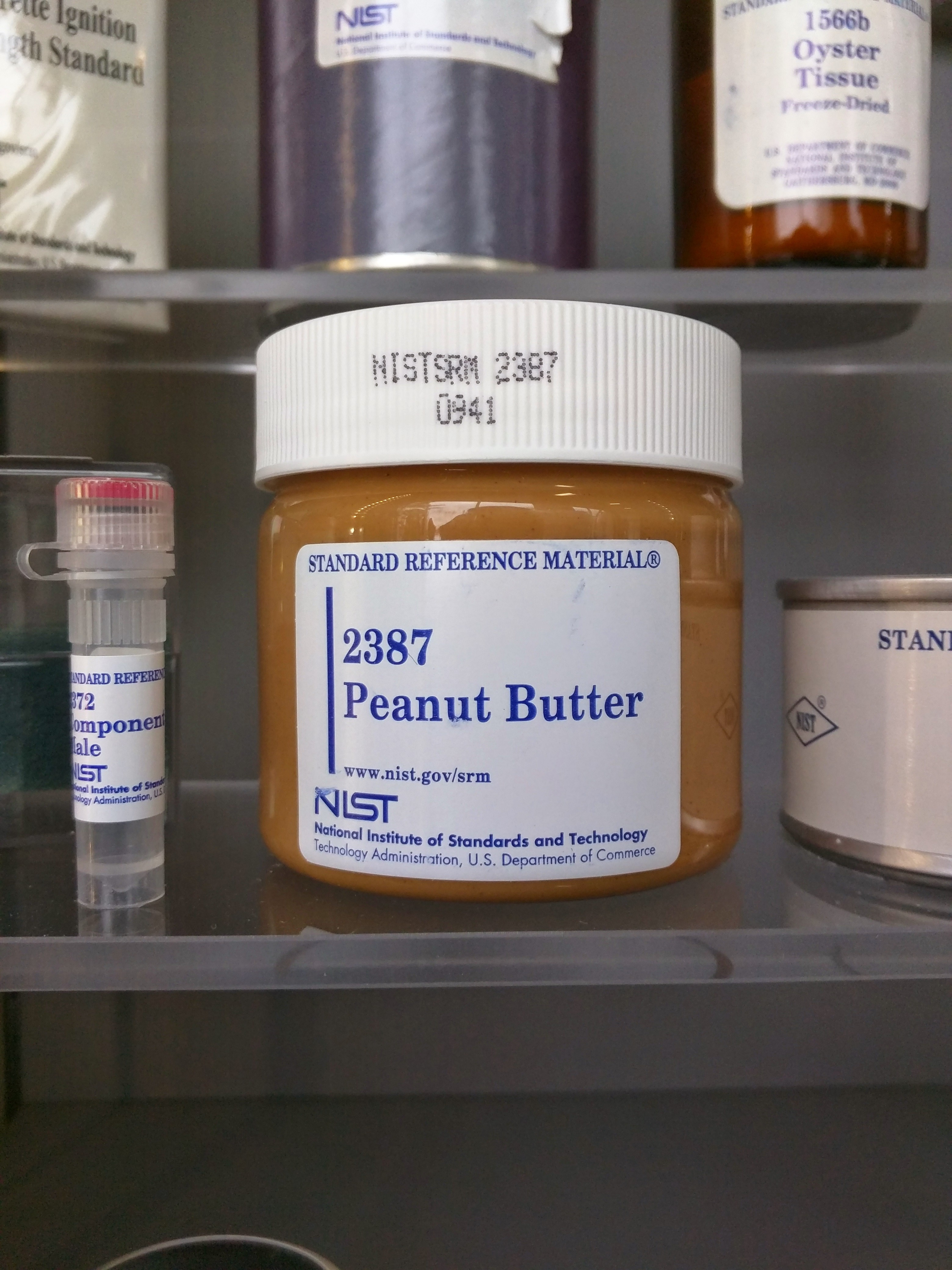 Standard reference peanut butter