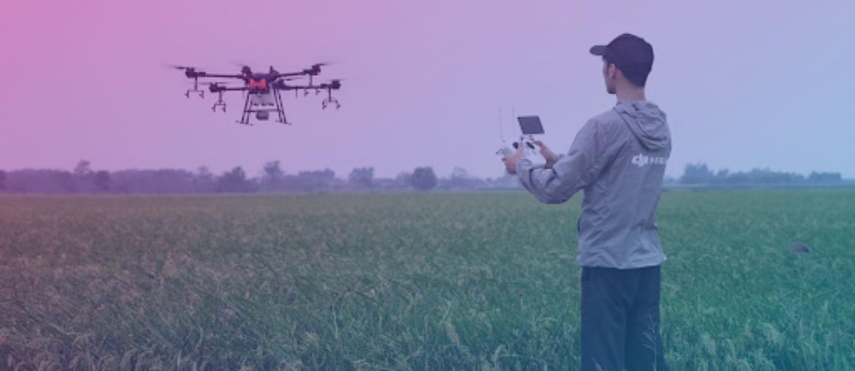 Oportunidade no agronegócio: consórcio para drones agrícolas
