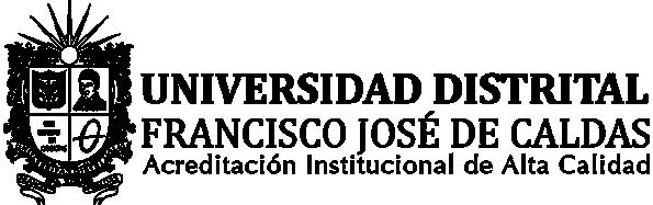 Logo Universidad distrital francisco jose de caldas