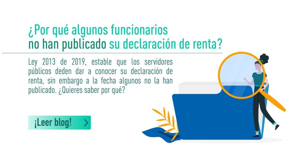 Funcionarios no han declarado renta en Colombia