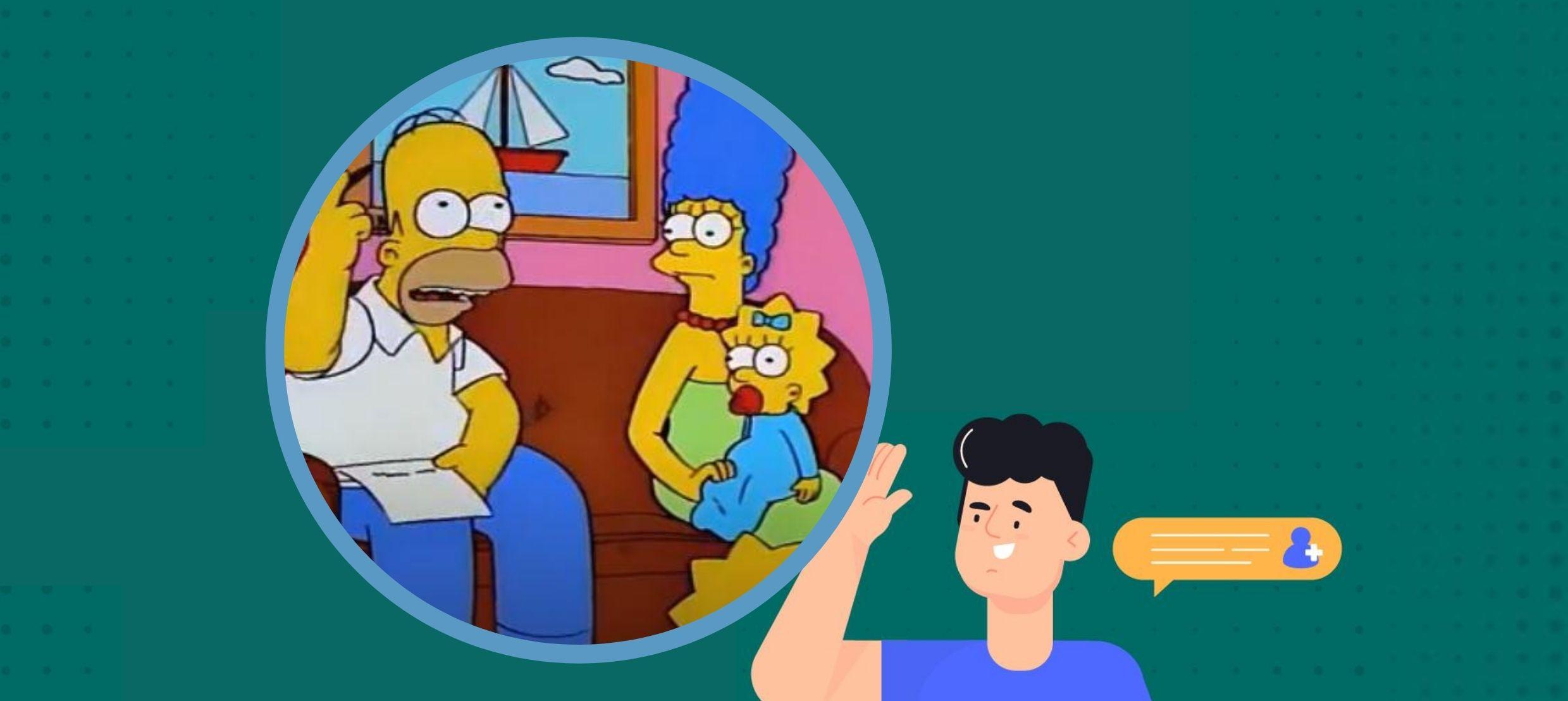 ¿Qué podemos aprender de los Simpson para nuestra declaración de renta?