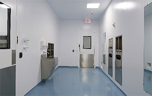 Filling Suite in a Sterile Product Cleanroom