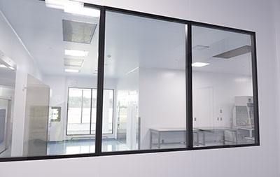 HVAC requirement for a non-sterile cleanroom area