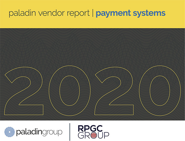 """an image of the cover of a report with the words """"paladin vendor report"""""""