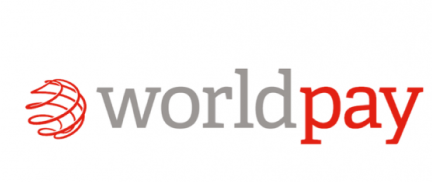 "worldpay's logo - which reads ""world pay"""