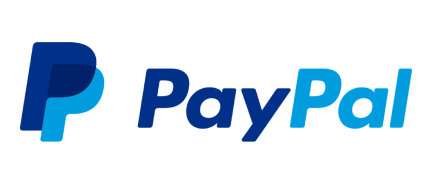the word paypal as a logo