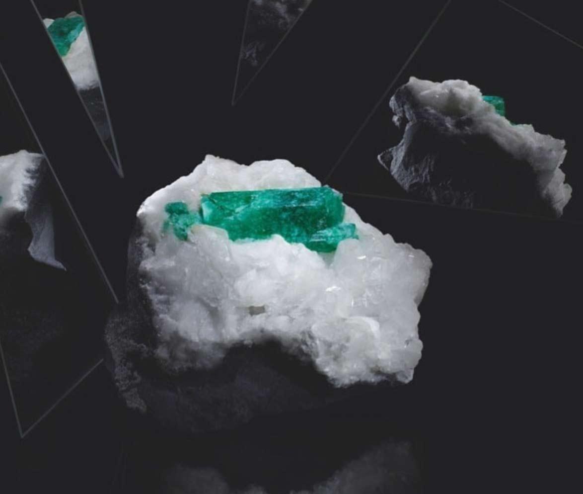 Mcogroup - vivid green emerald columbia crystal year 2021