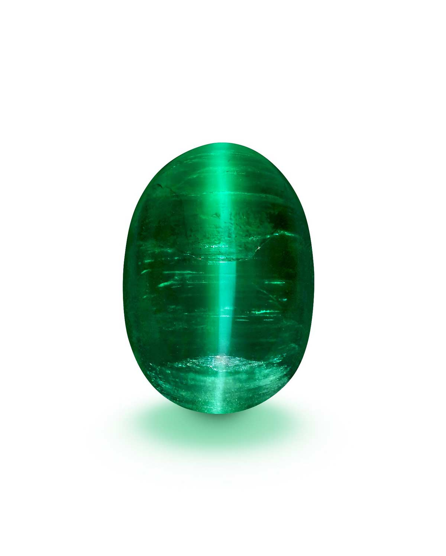 Emerald Cat eye vivid green columbia 2021