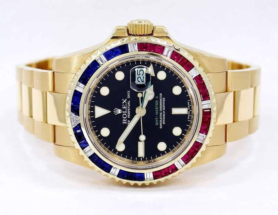 Rolex Gmt Master II 116718 Pepsi sapphire bezel