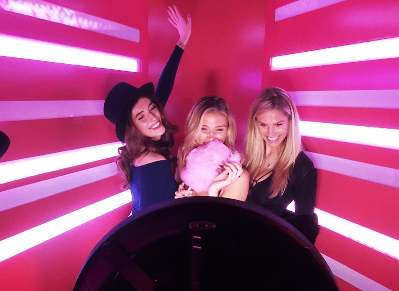 a social playground gif booth activation