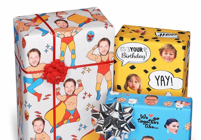 Custom Printed Gift Wrapping Paper for Mother's Day Event