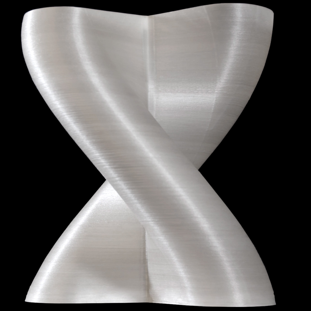 CF3D fiberglass spiral figure 8 part