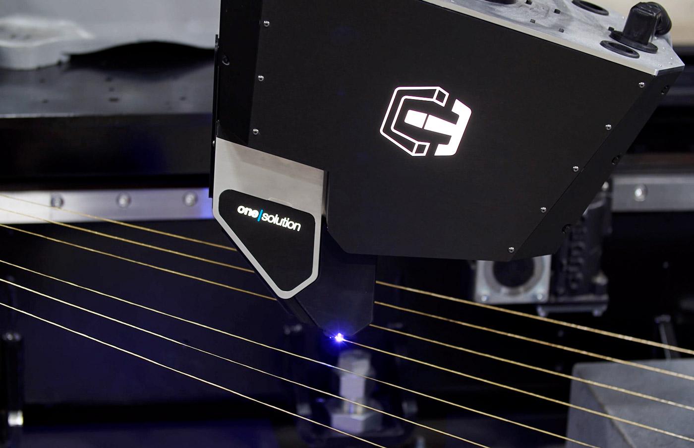CF3D printing kevlar in free space
