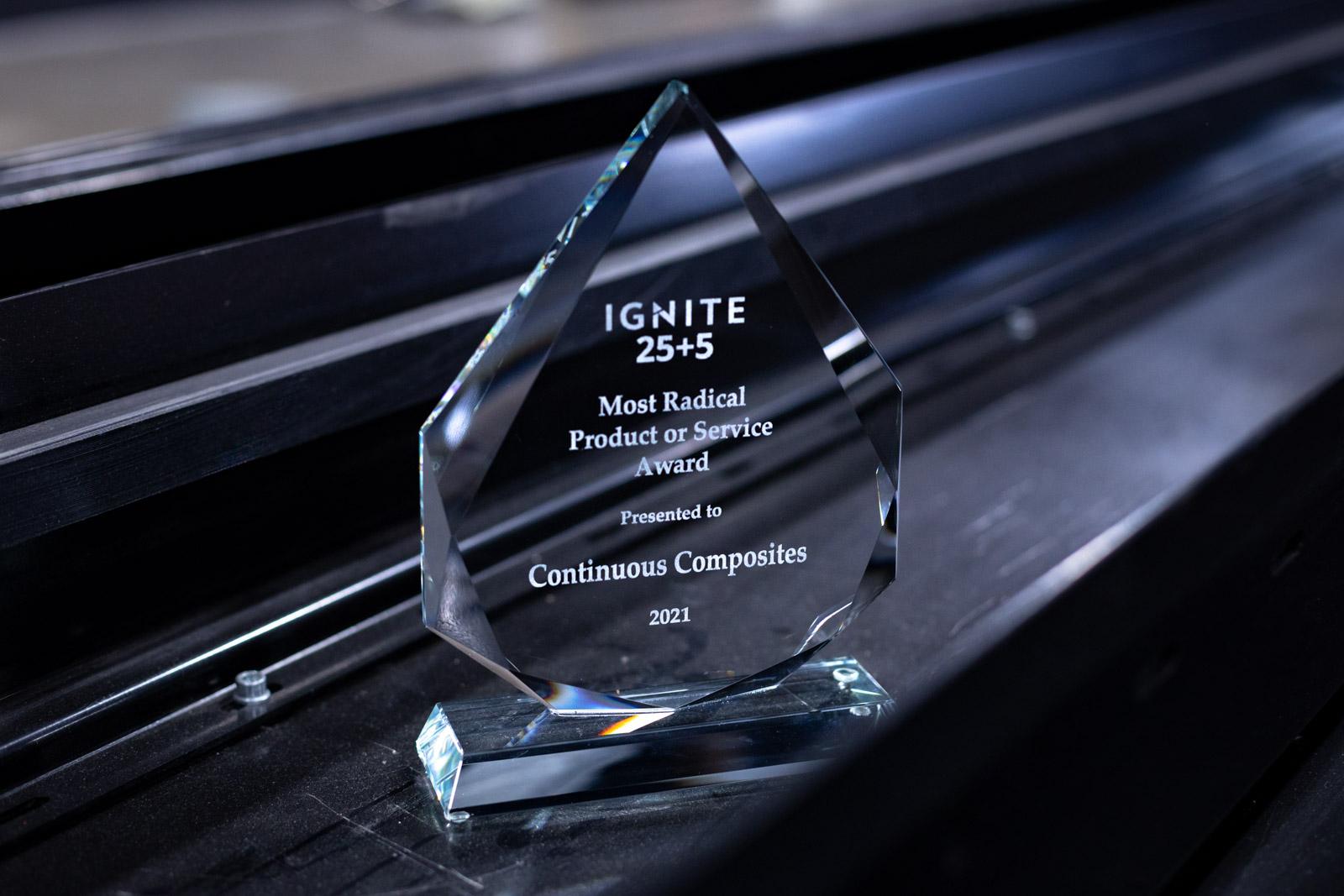 Ignite Northwest 25+5 Award