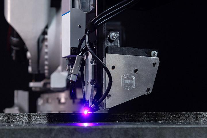 Continuous carbon fiber skateboard print with CF3D