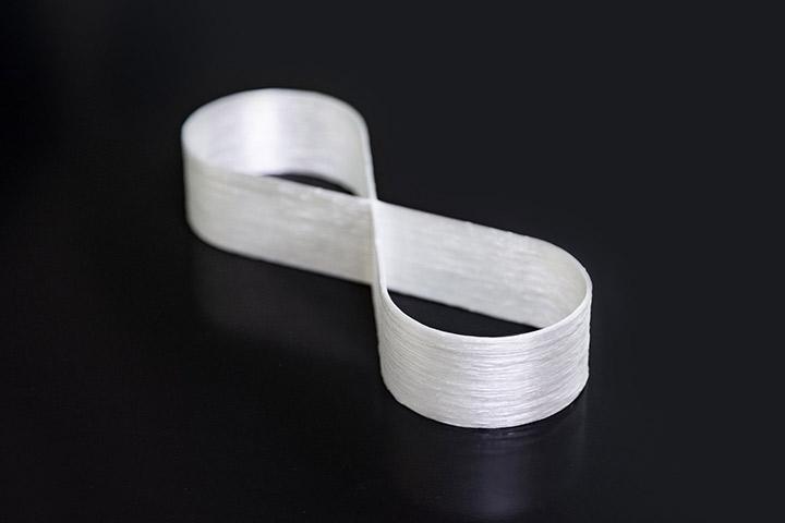 Fiberglass figure 8 printed with CF3D®