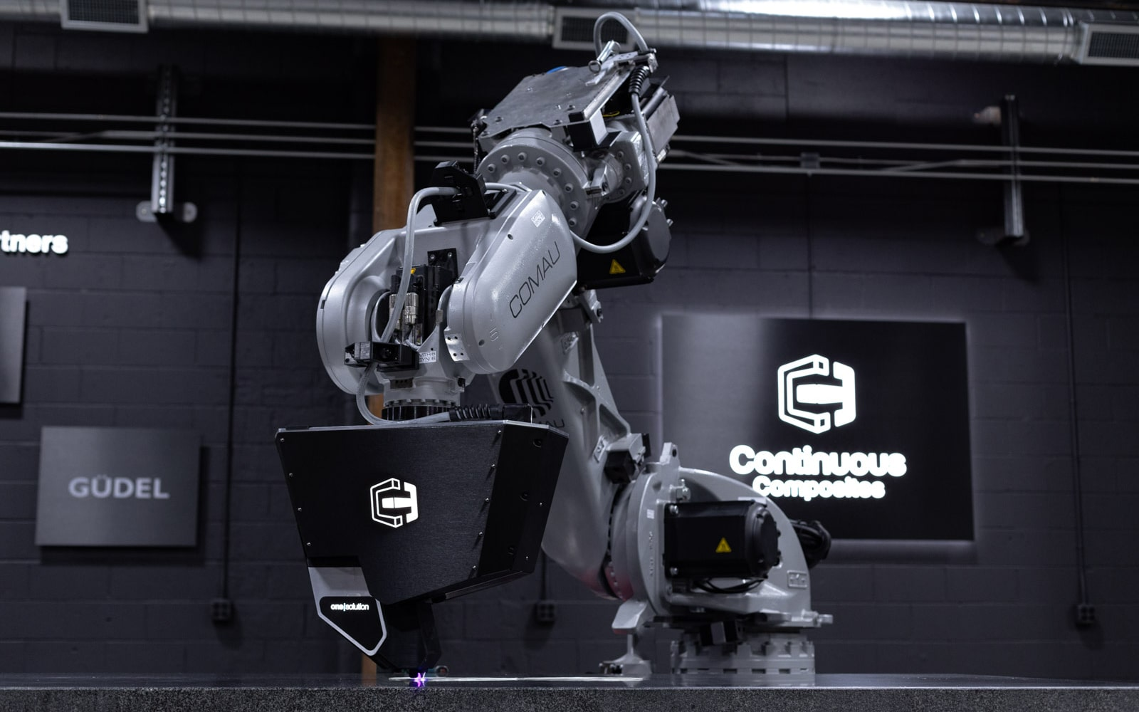 Printing Continuous Fiberglass with CF3D Technology