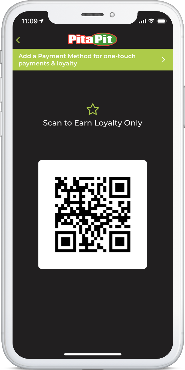 iPhone App Loyalty Scan