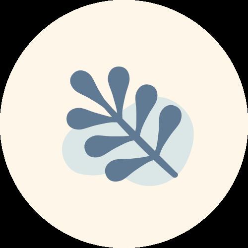 single leaf icon