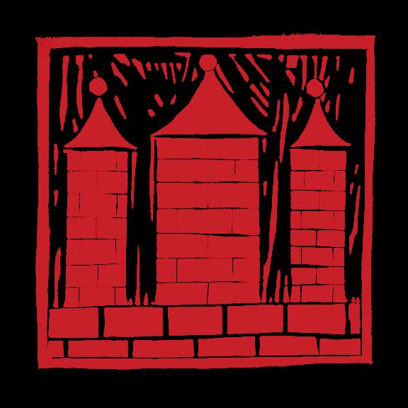 Věže Českých Budějovic – linoryt