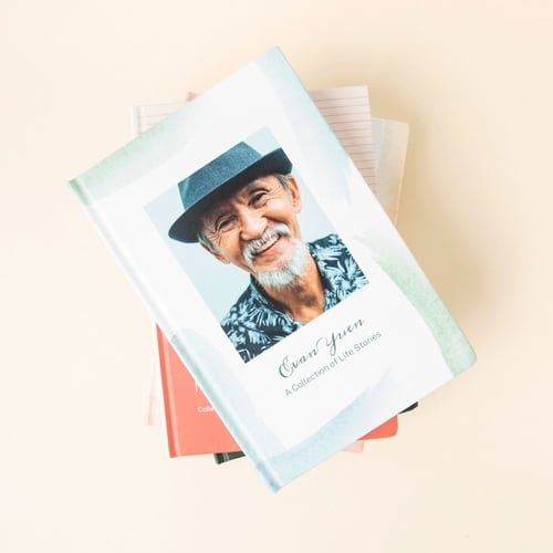 Photo of a sample book