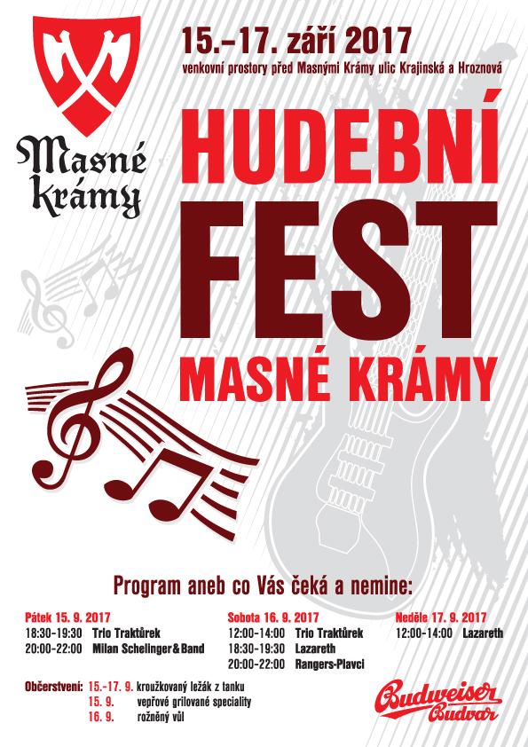 Hudební Fest Masné krámy 2017