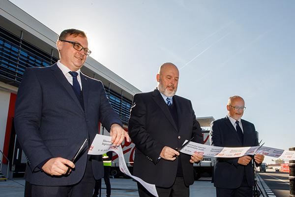 Budějovický Budvar dnes slavnostně otevřel nové logistické centrum