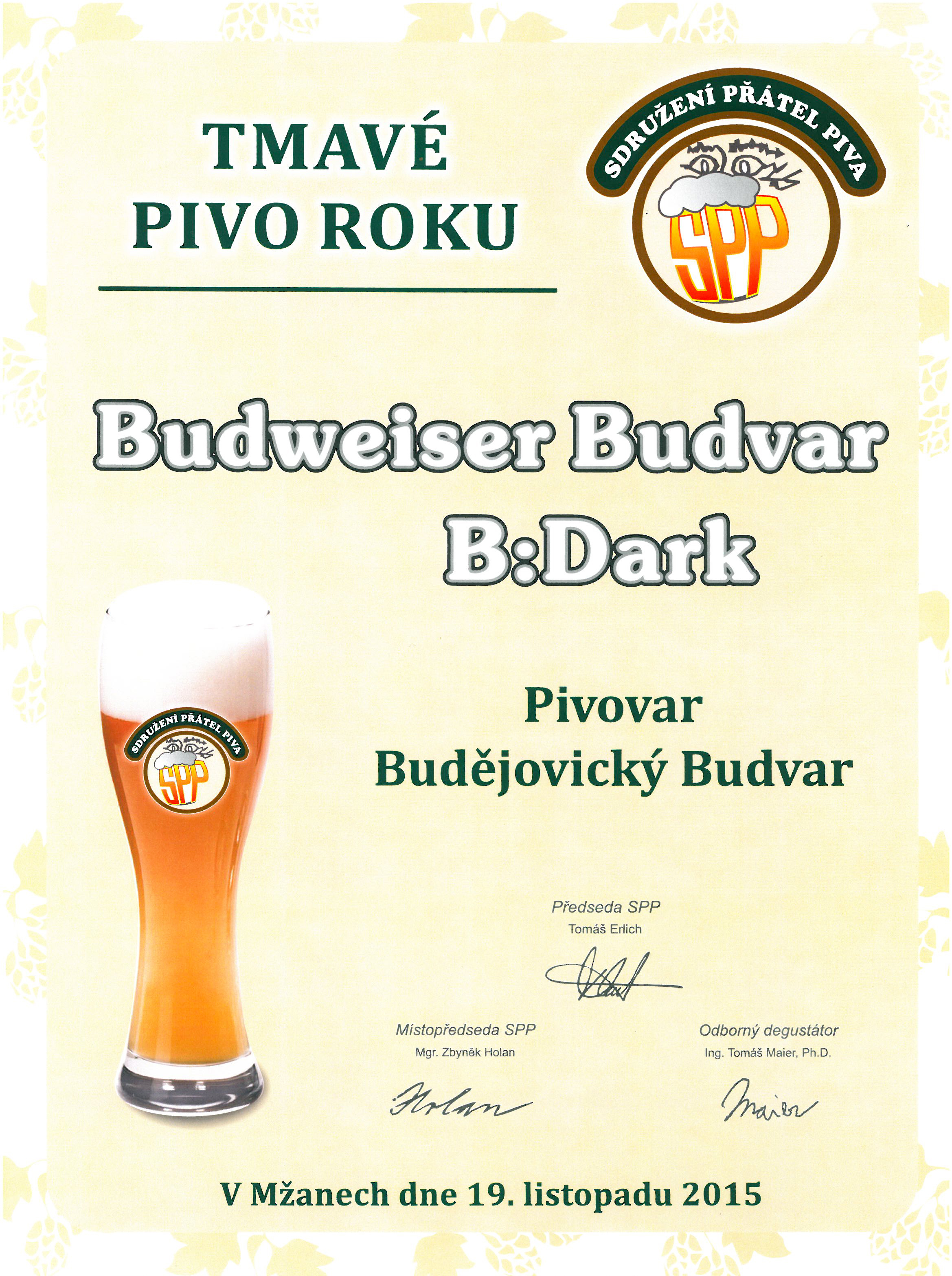 Tmavé pivo roku