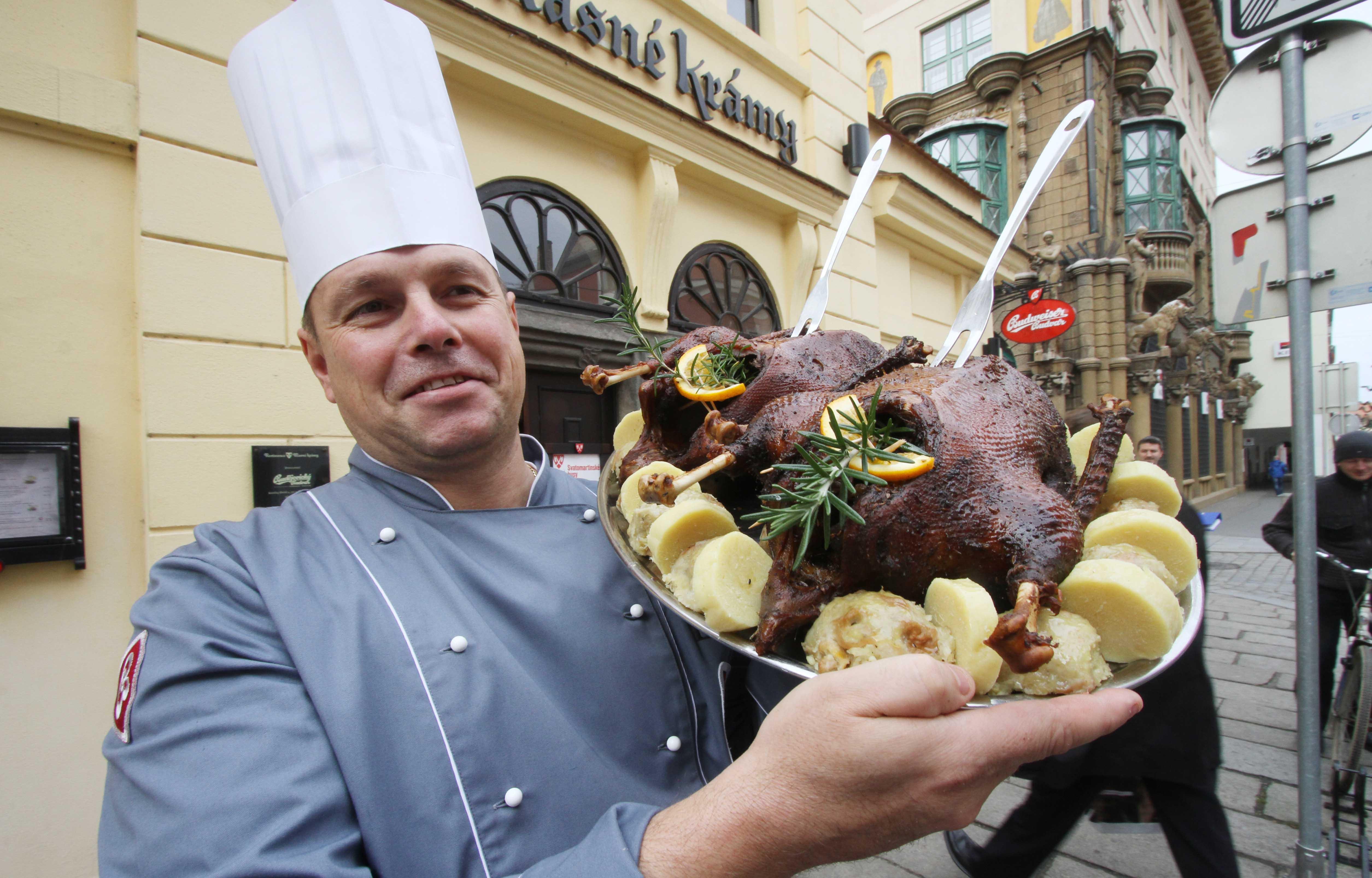 Šéfkuchař restaurace Masné krámy Luděk Hauser