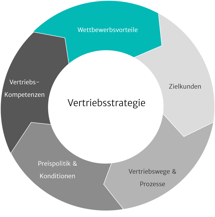 Illustration zu Marketing- & Vertriebsstrategie