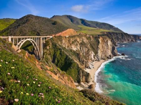 travel nursing in california bridge over pacific ocean