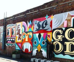 travel nursing in los angeles graffiti wall