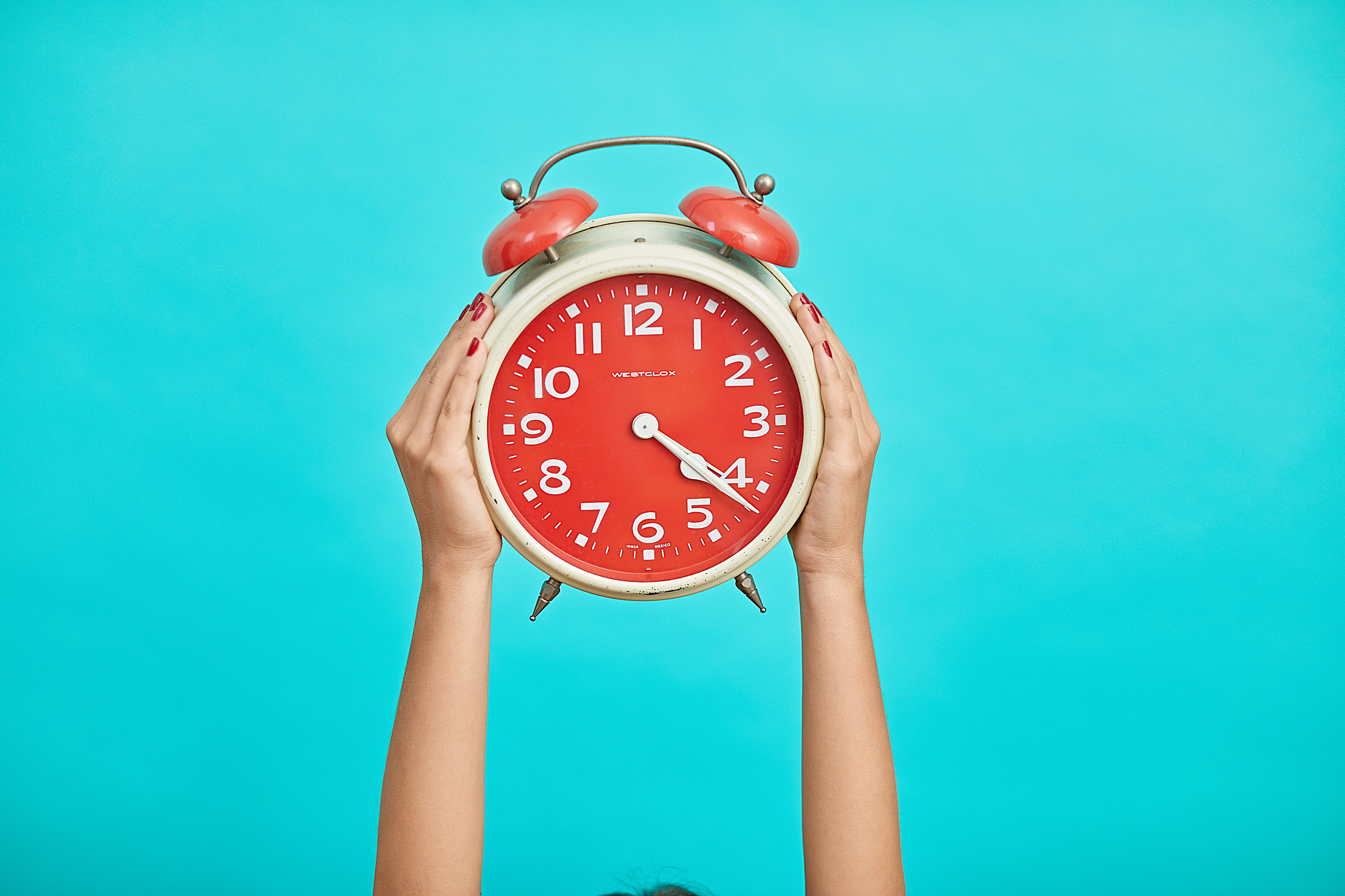 alarm clock time is of the essence for travel nurses