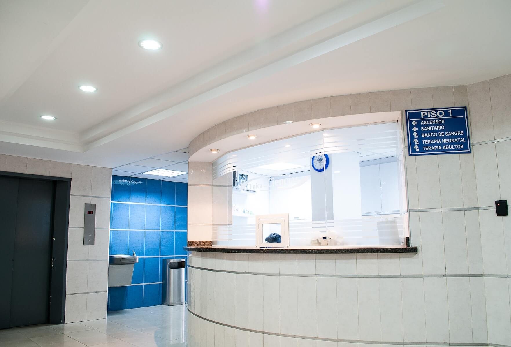 hospital front desk waiting area medical tourism travel