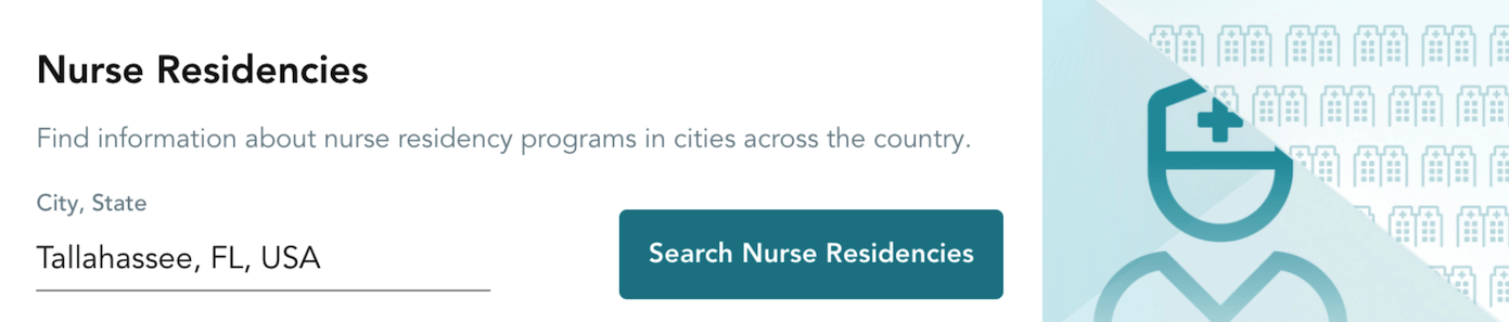 trusted health for new grads nurse residency search