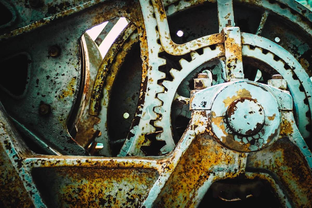 cog in the machine rusted old nurse leadership mental wellness for nurses