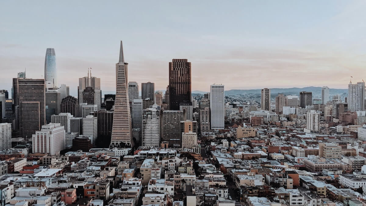 san francisco city scape how to become a travel nurse