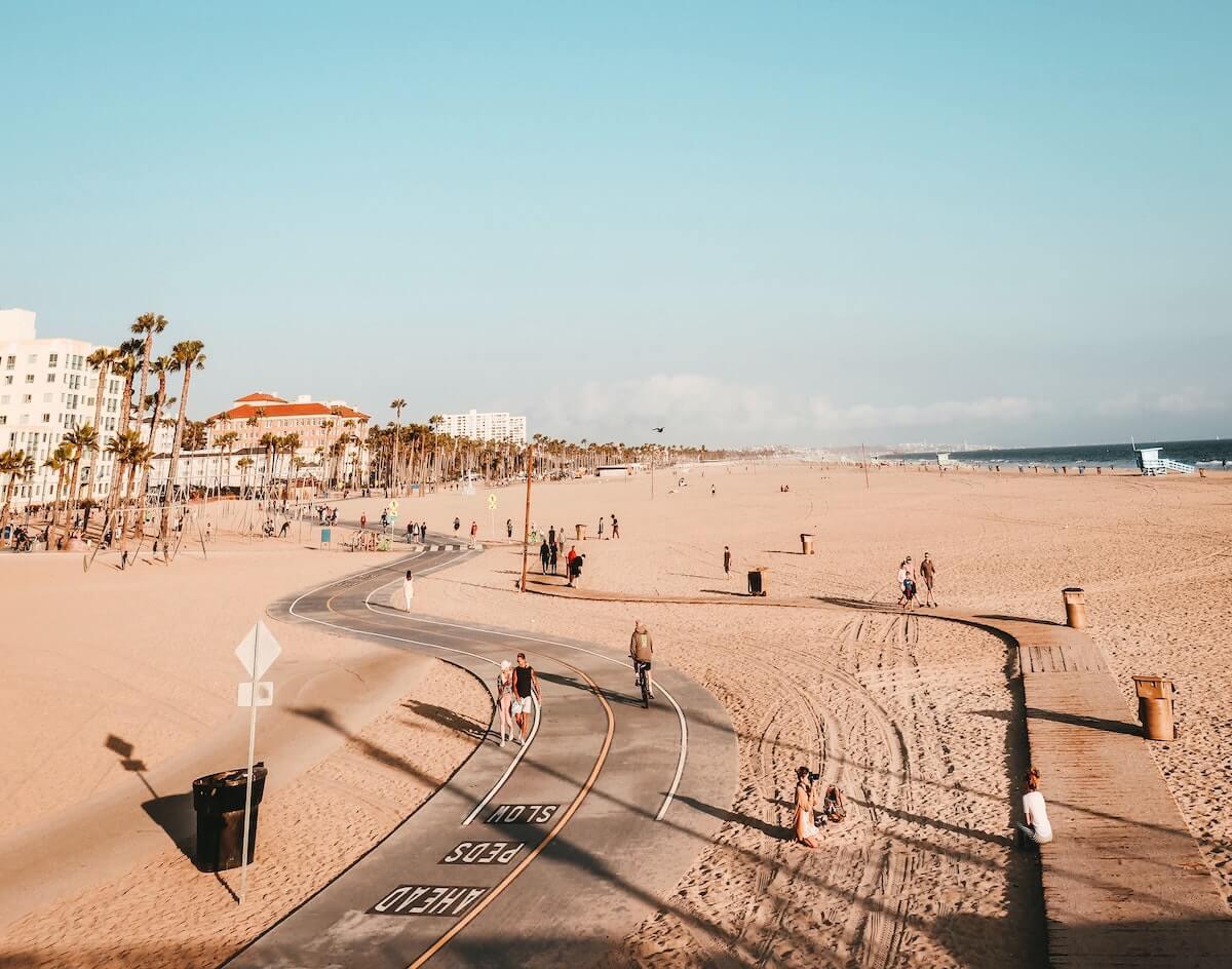 california venice beach landscape photo california nursing license