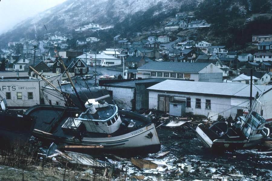 boat on shore amidst debris following hurricane disaster nursing