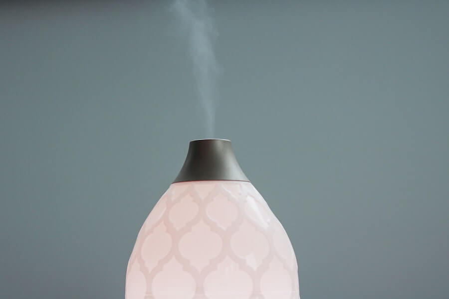 light pink modern aromatherapy diffuser holiday gift ideas for nurses