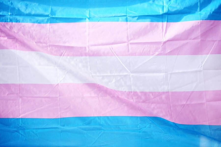 LGBTQ transgender flag LGBTQ healthcare