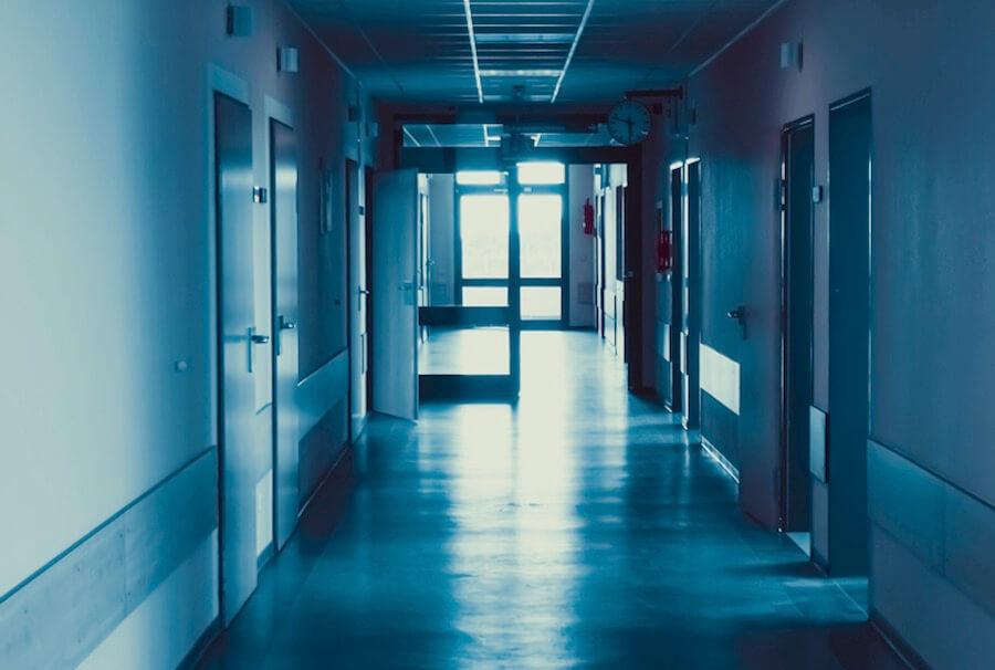 dark hospital hallway at night night shift nursing shifts