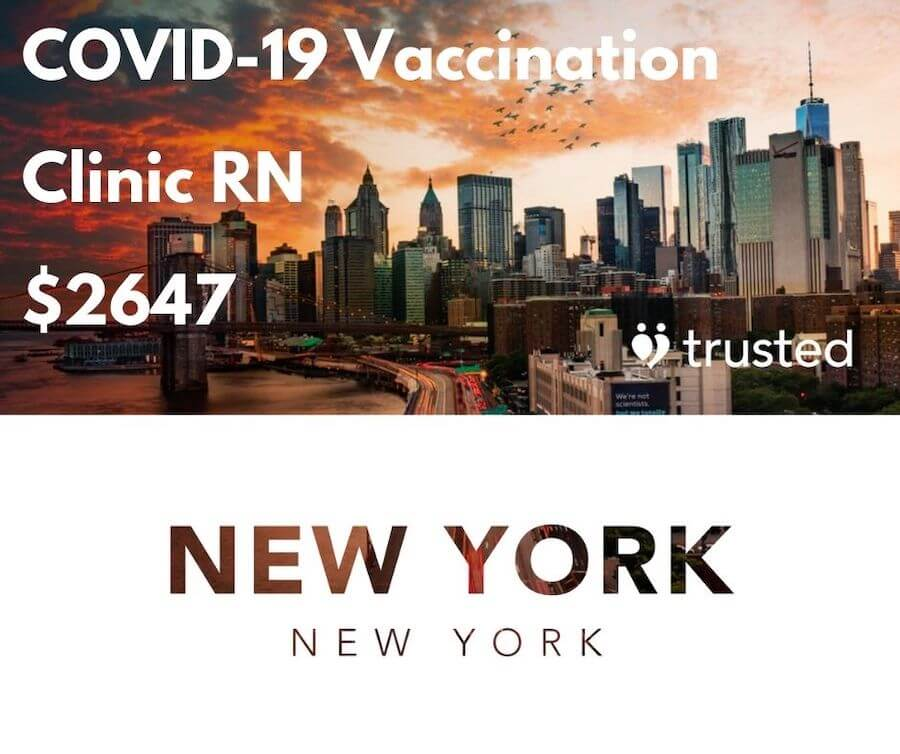 trusted health covid19 vaccination nursing jobs ad highest paying travel nursing jobs of 2021